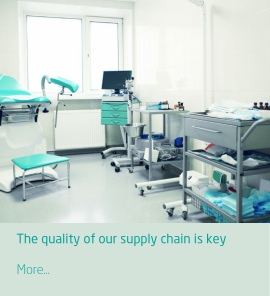 The quality of our supply chain is key, products meet quality standards