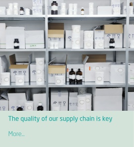 The quality of our supply chain is key to ensuring your efficient stock management