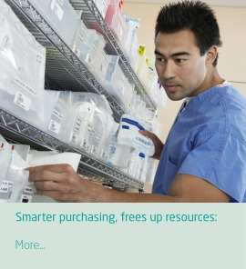 Smarter purchasing, frees up resources and saves money