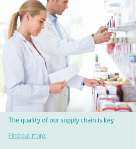 A quality supply chain is vital for time critical product replenishment